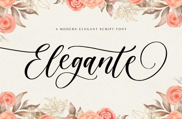 Elegante Font