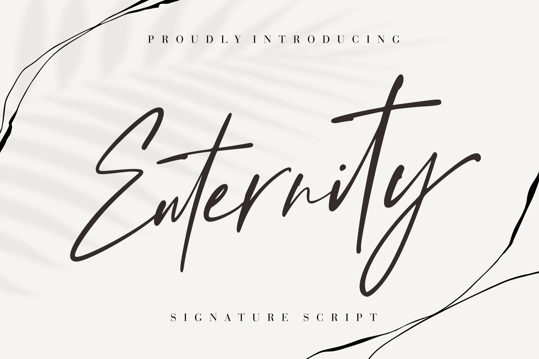 Enternity Script Font -1
