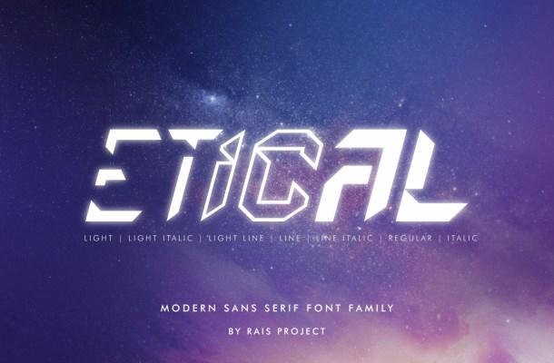 Etical Font Free