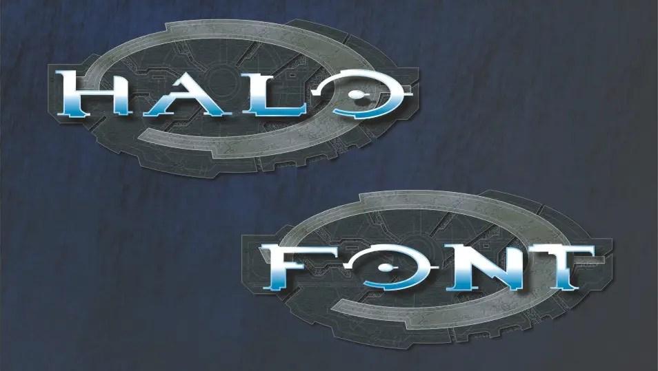 Halo Fancy Font-1