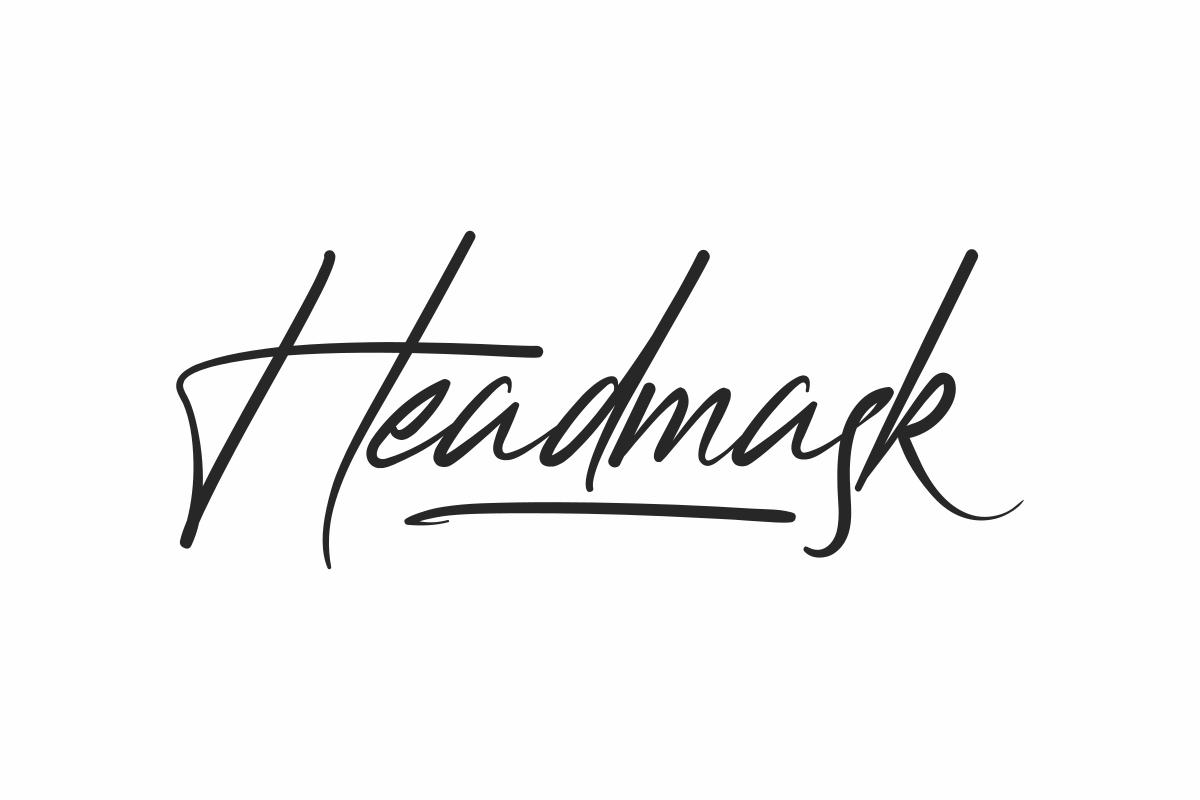 Headmask Handwritten Font -1