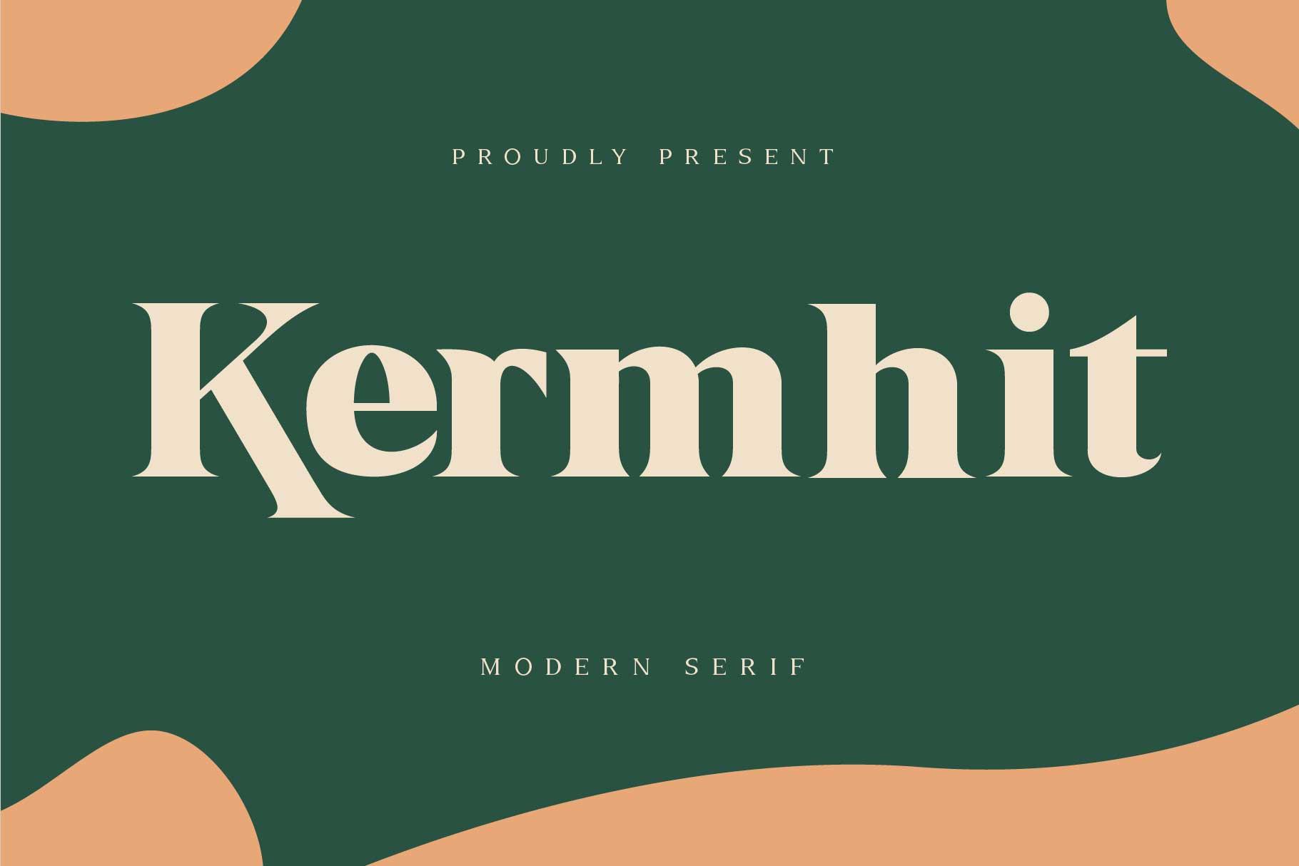 Kermhit Serif Font -1