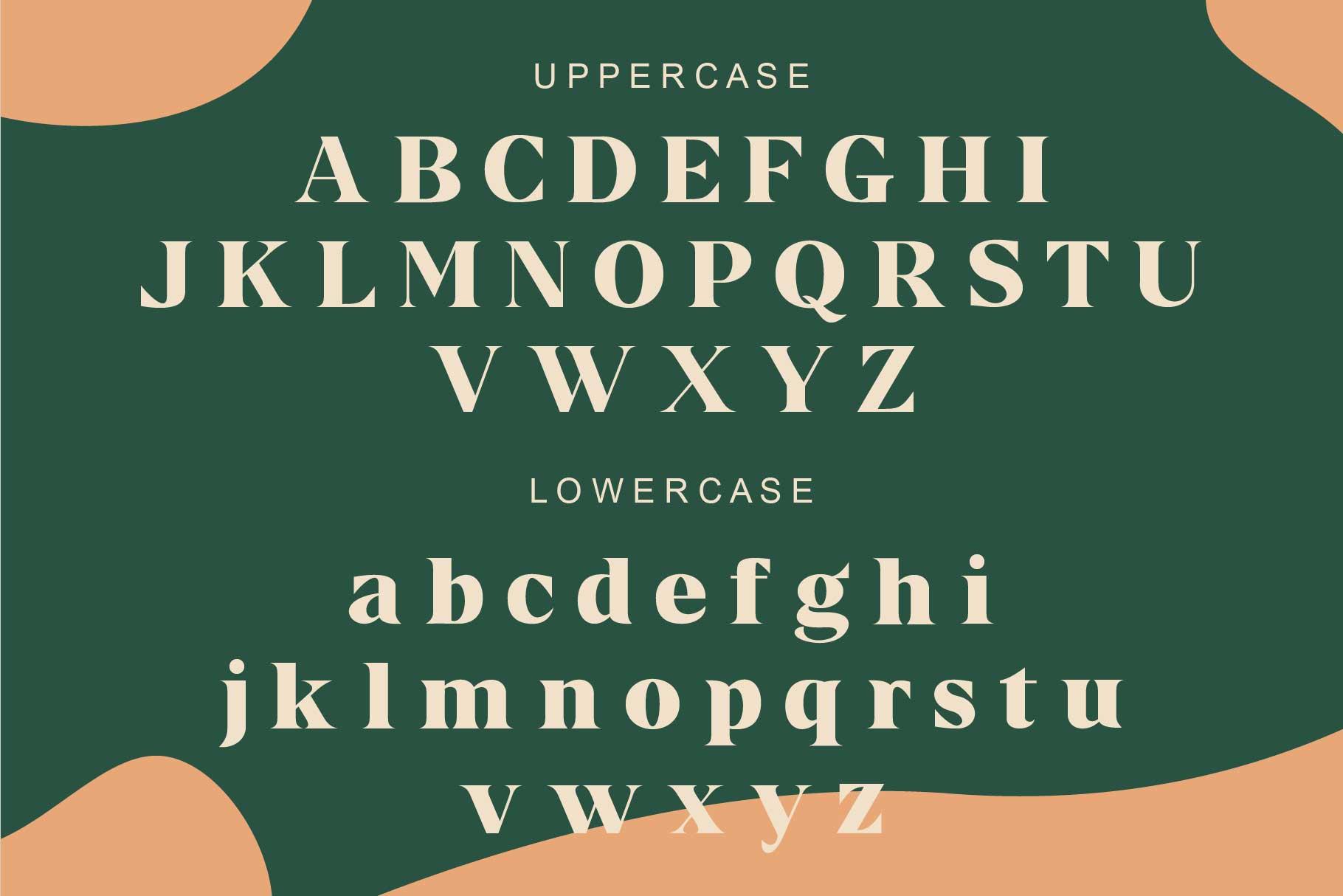 Kermhit Serif Font -2