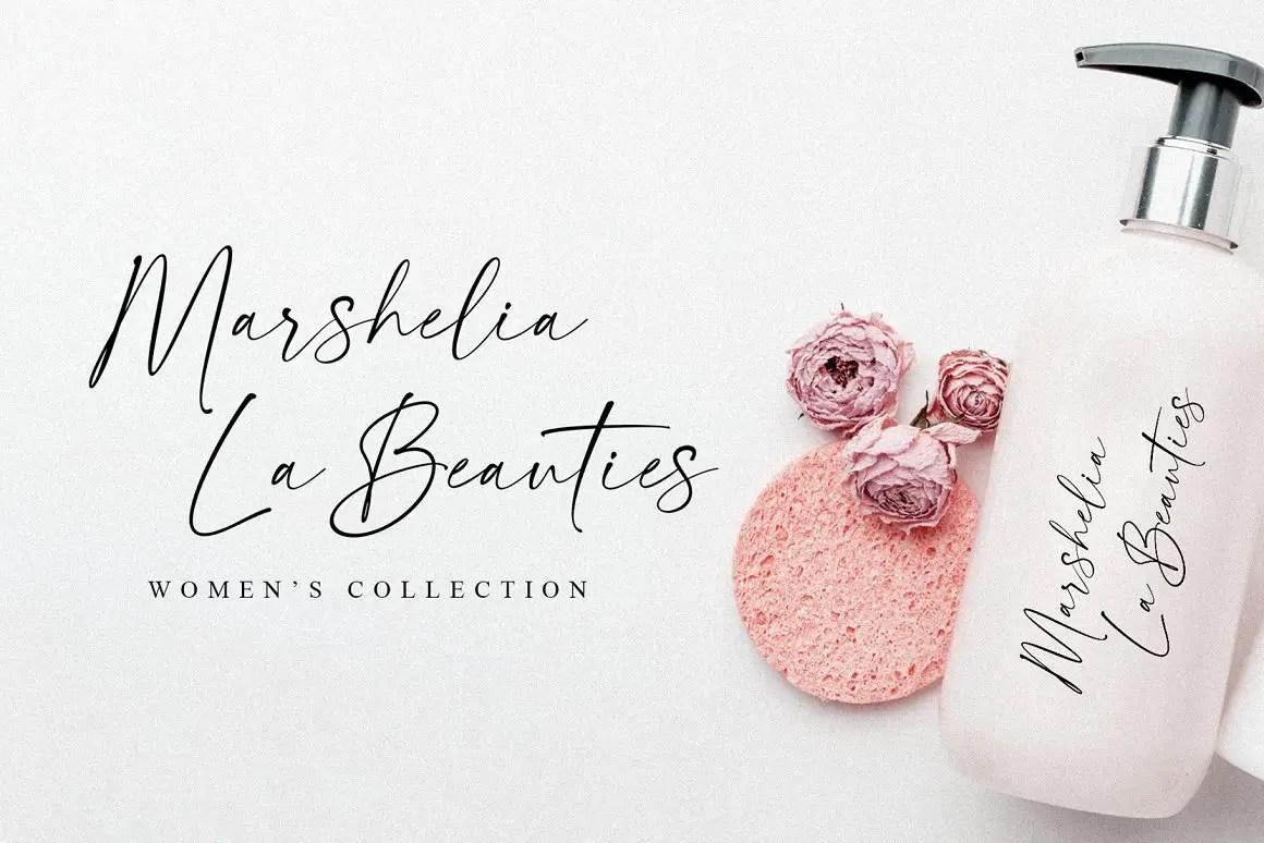 La Beauties Casual Handwritten Font -2