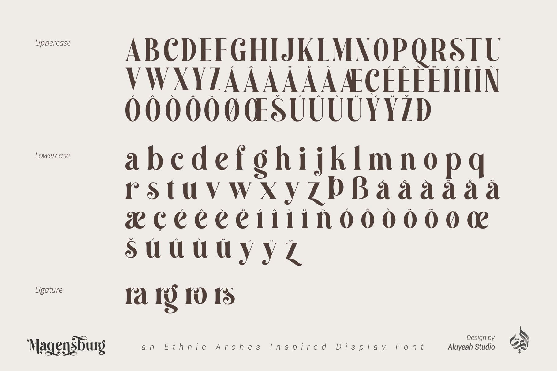 Magensburg Serif Font -2