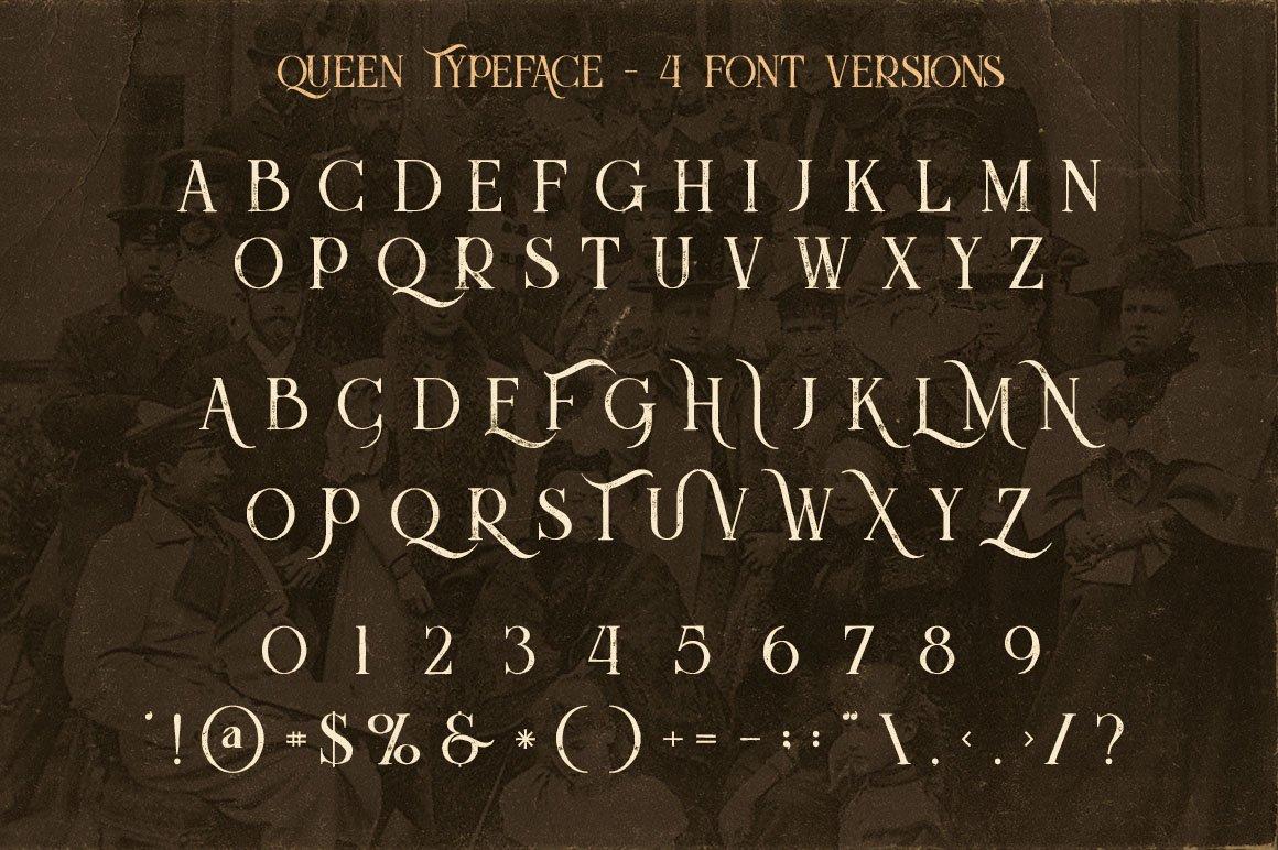 Queen Display Font-3