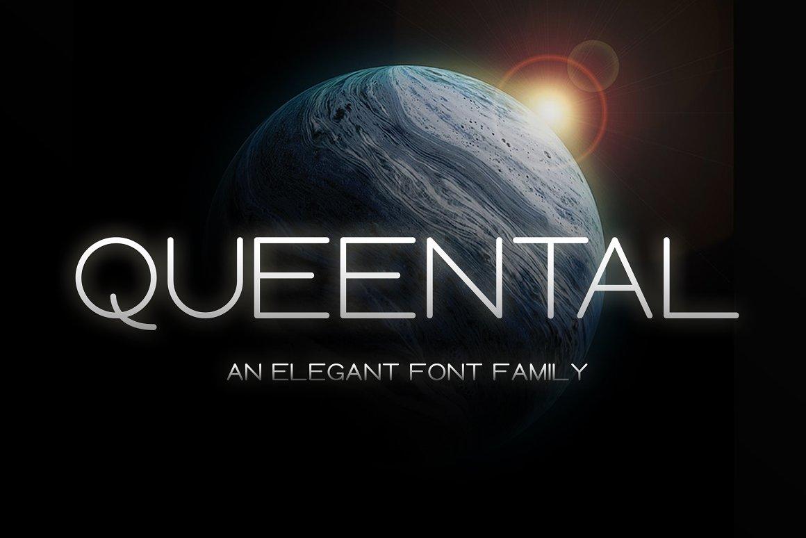 Queental Elegant Sans Font Family -1