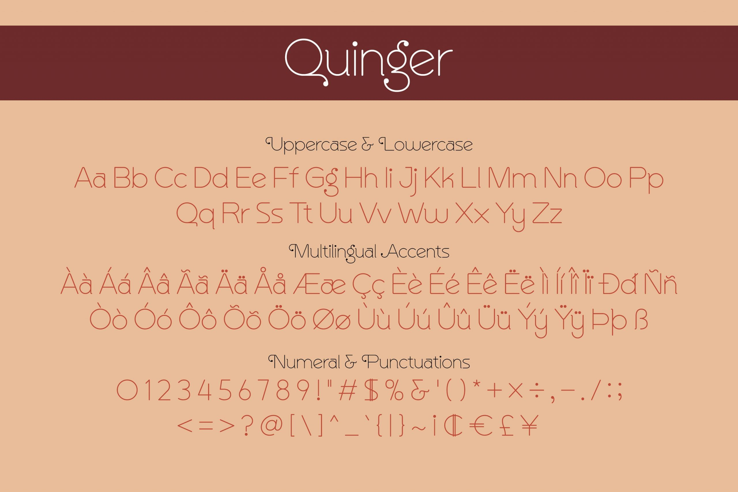 Quinger Unique Sans Display Fint -3