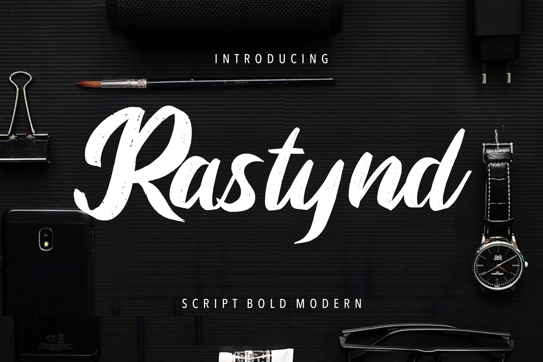 Rastynd Script Bold Modern Font -1