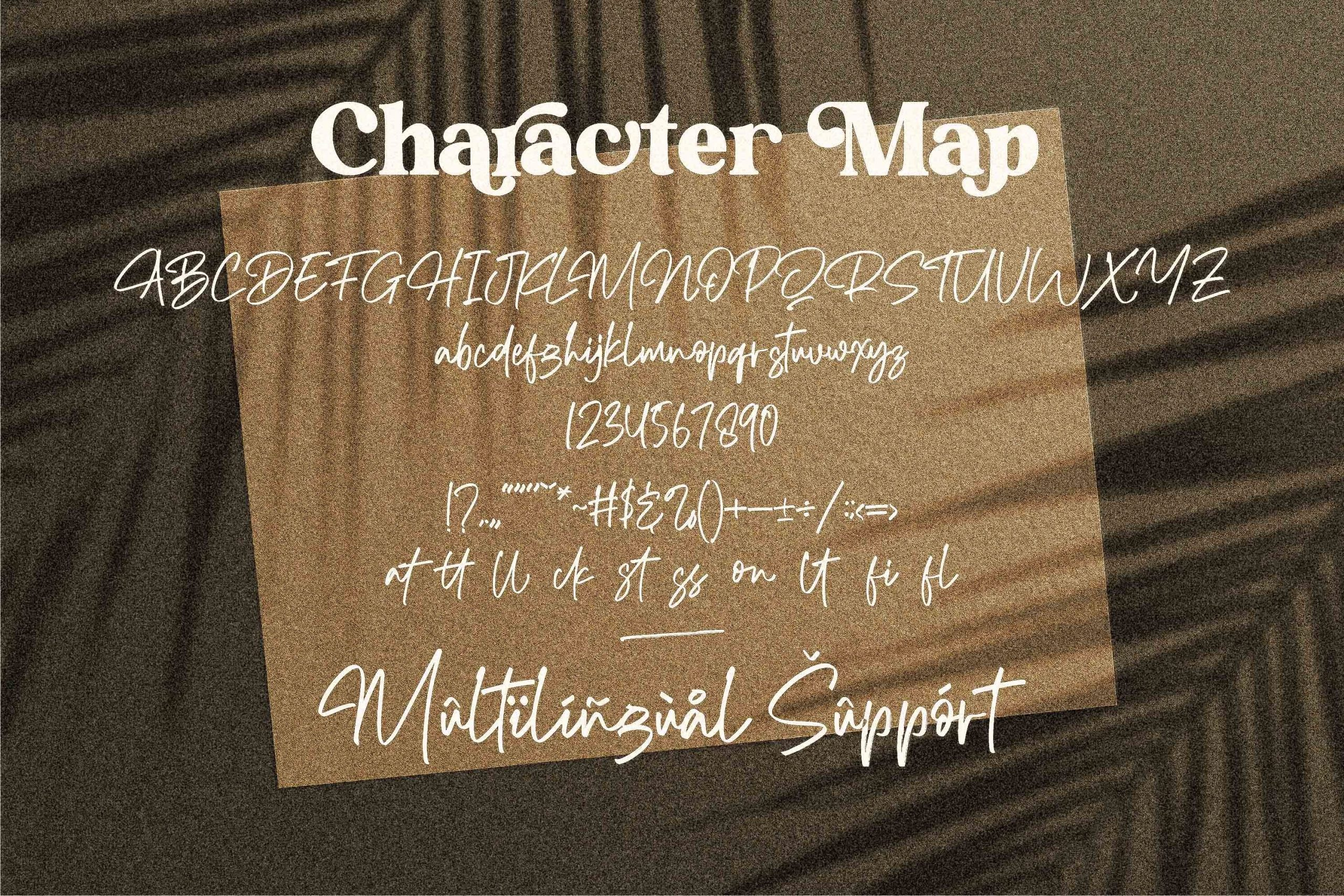 Richard Hamilton Brush Signature Font -3