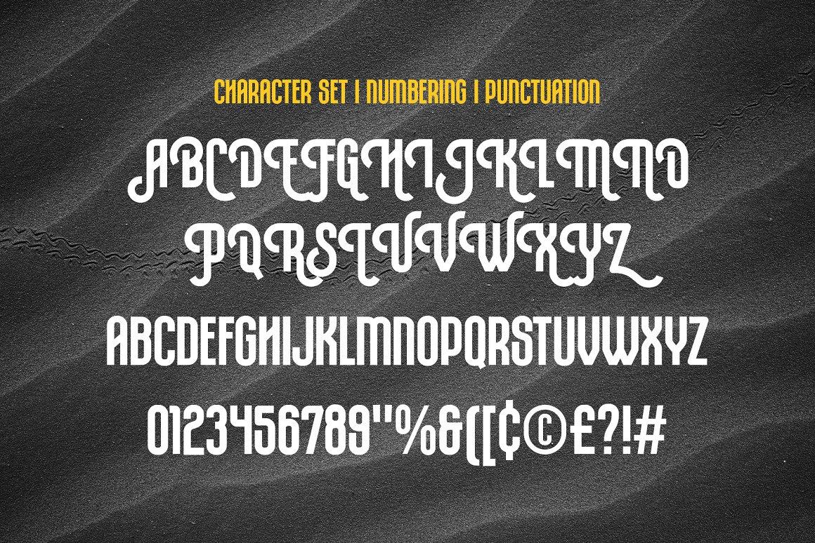 Rompies Condensed Display Sans Font -3