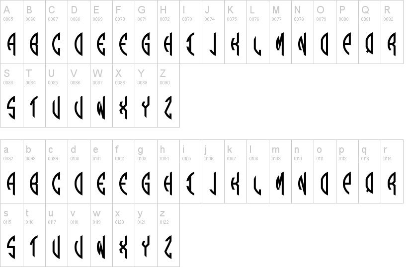 Round Monogram Fancy Font-2
