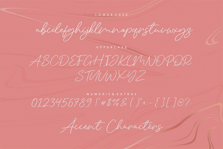 Silent Caroline Luxury Script Font -3