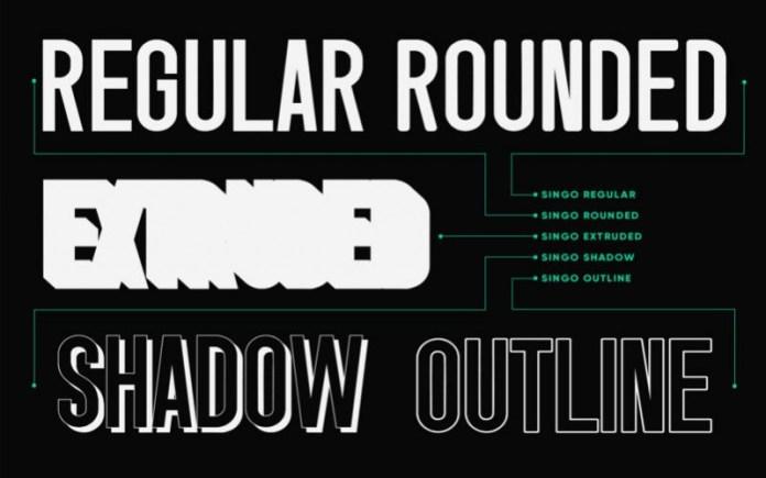 Singo Bold Sans Serif Font -3