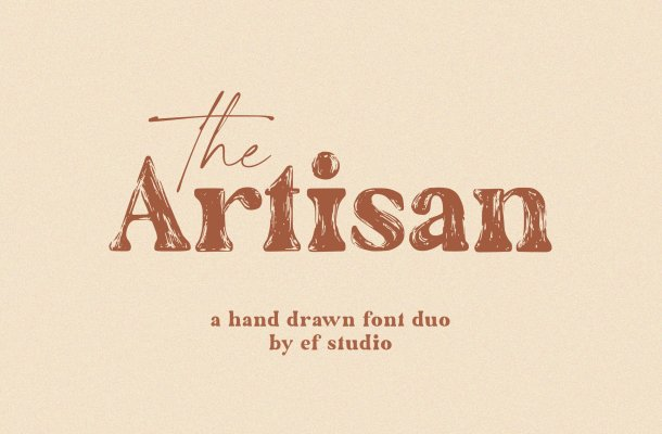The Artisan Font Duo