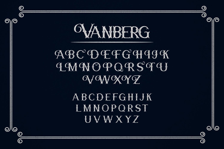 Vanberg Blackletter Font -2