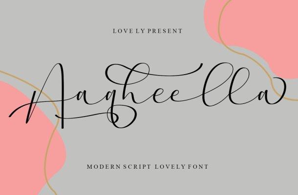 Aaqheella Font