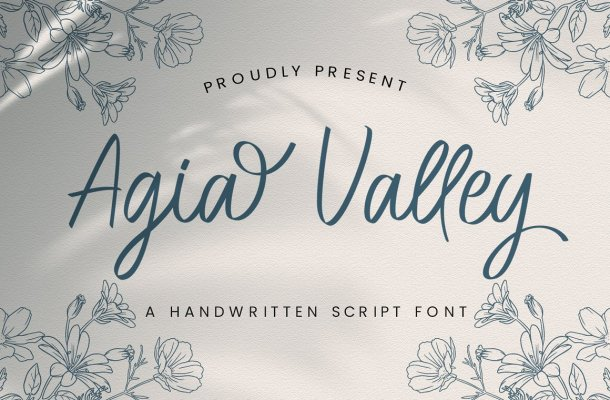 Agia Valley Font