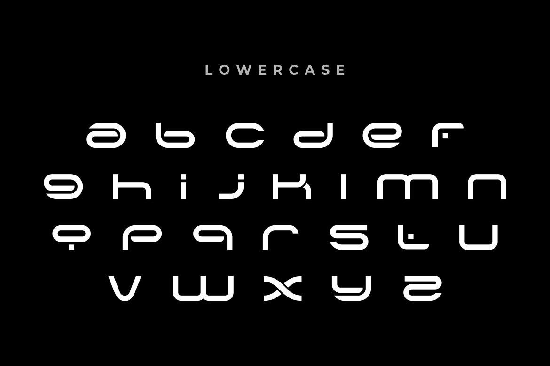 Alone Modern Sans Typeface -2