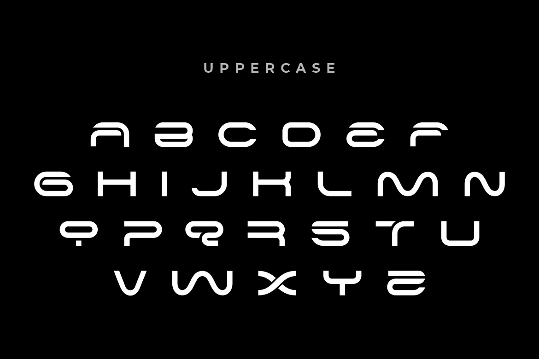 Alone Modern Sans Typeface -3