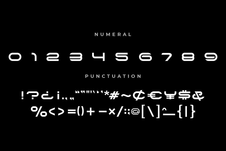Alone Modern Sans Typeface -4