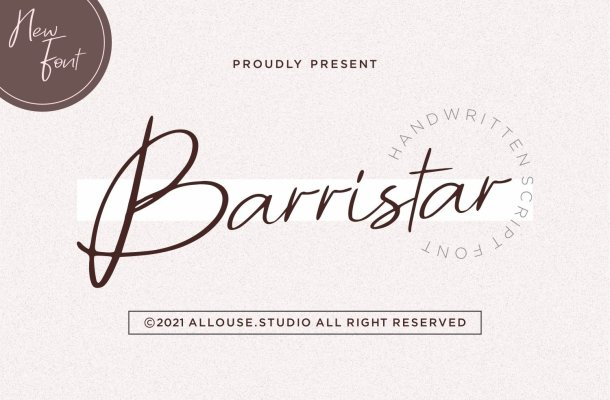 Barristar Font