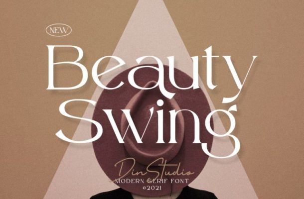 Beauty Swing Font