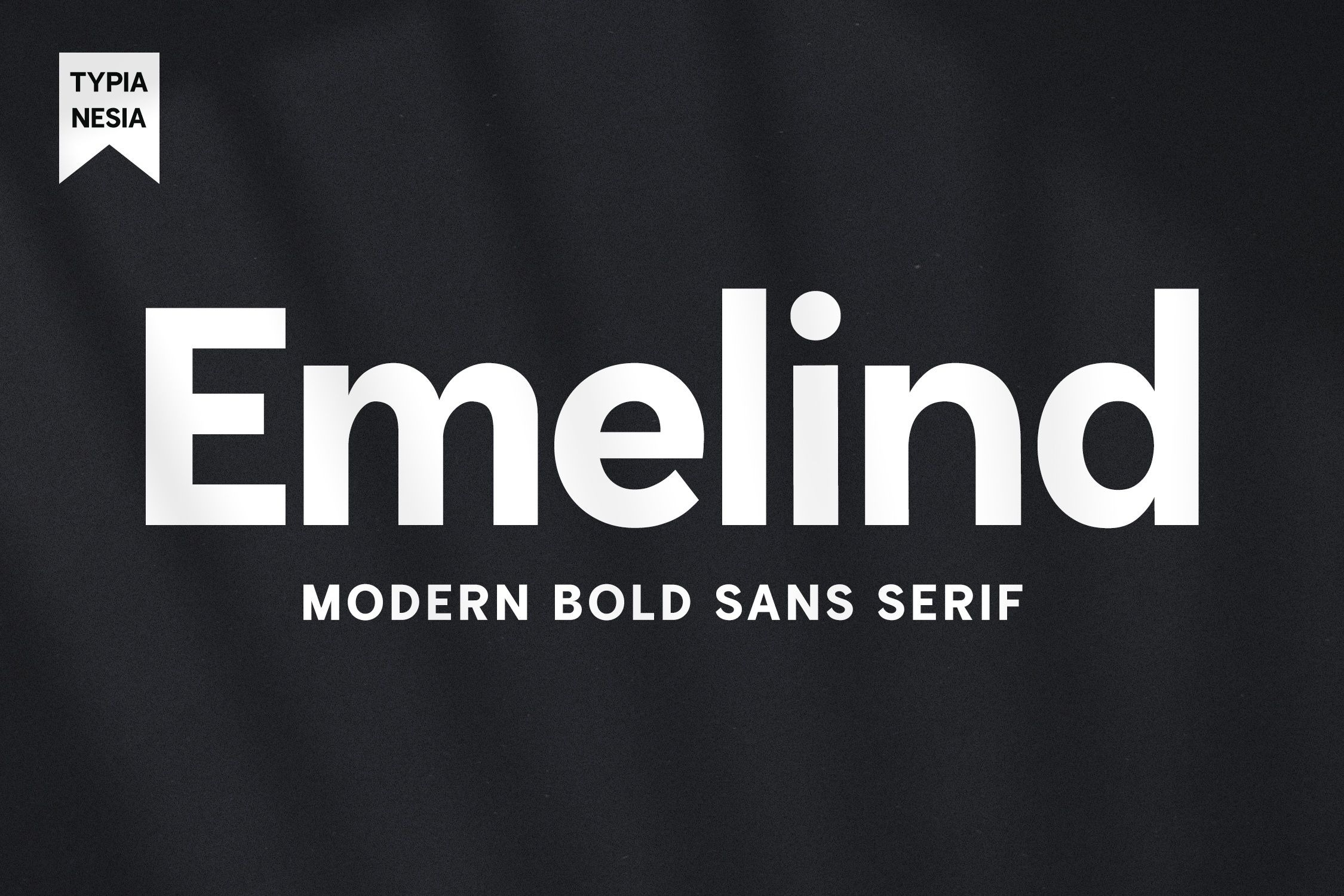 Emelind Modern Bold Sans Serif Font -1 (1)