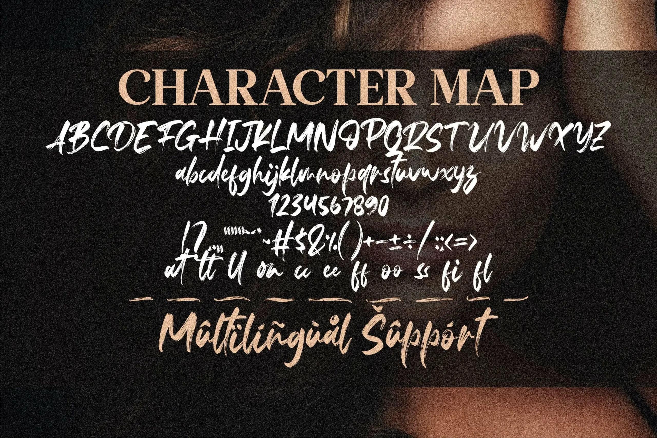 Fedattona Feminine Brush Font-3