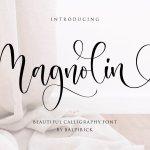 Magnolin Font