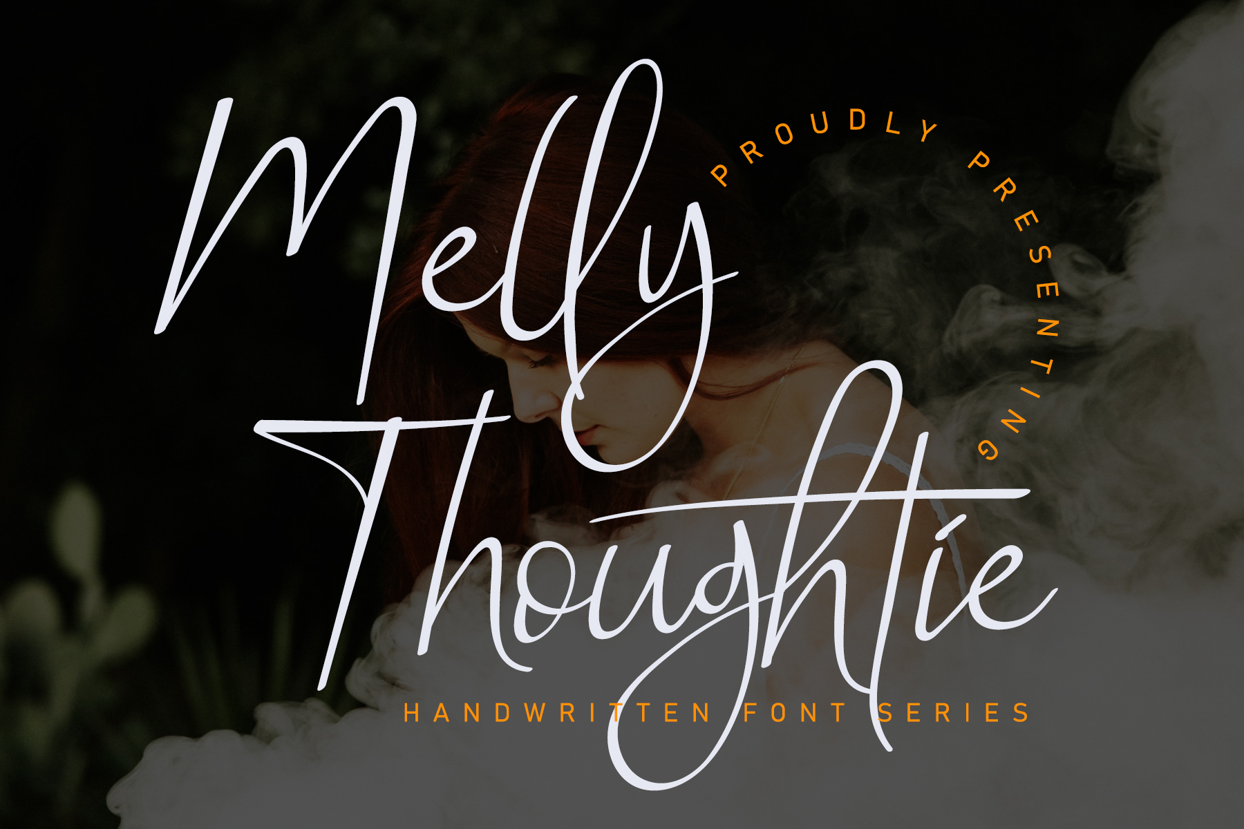 Melly Thoughtie Handwritten Font -1
