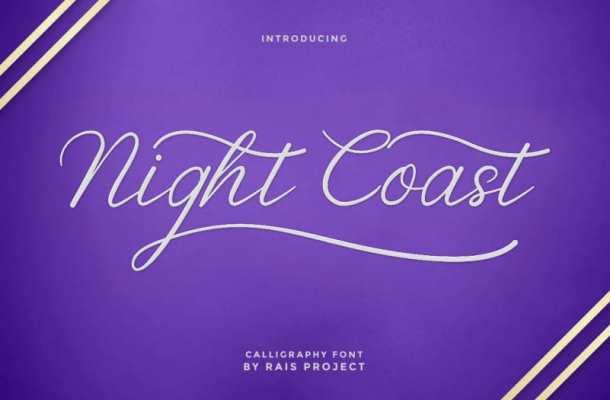Nightcoast Font