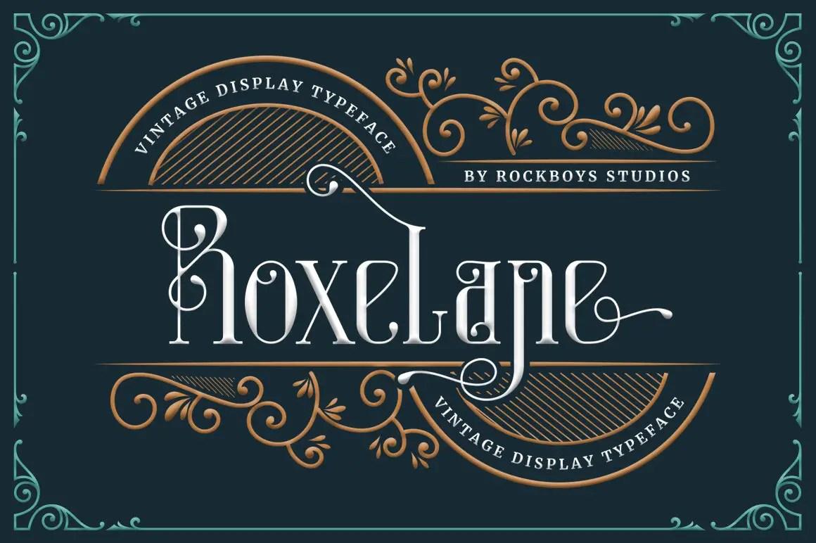 Roxelane Display Font -1