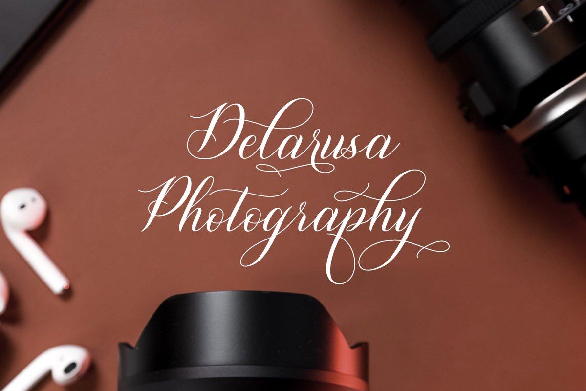 Shutterday Calligraphy Font -3