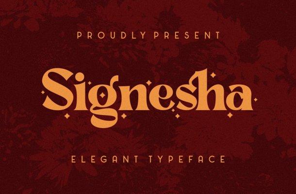 Signesha Typeface