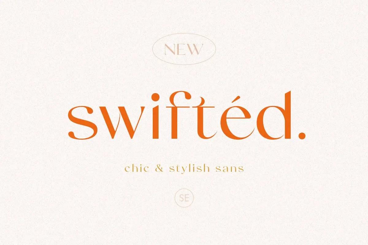 Swifted Chic & Stylish Sans Font -1