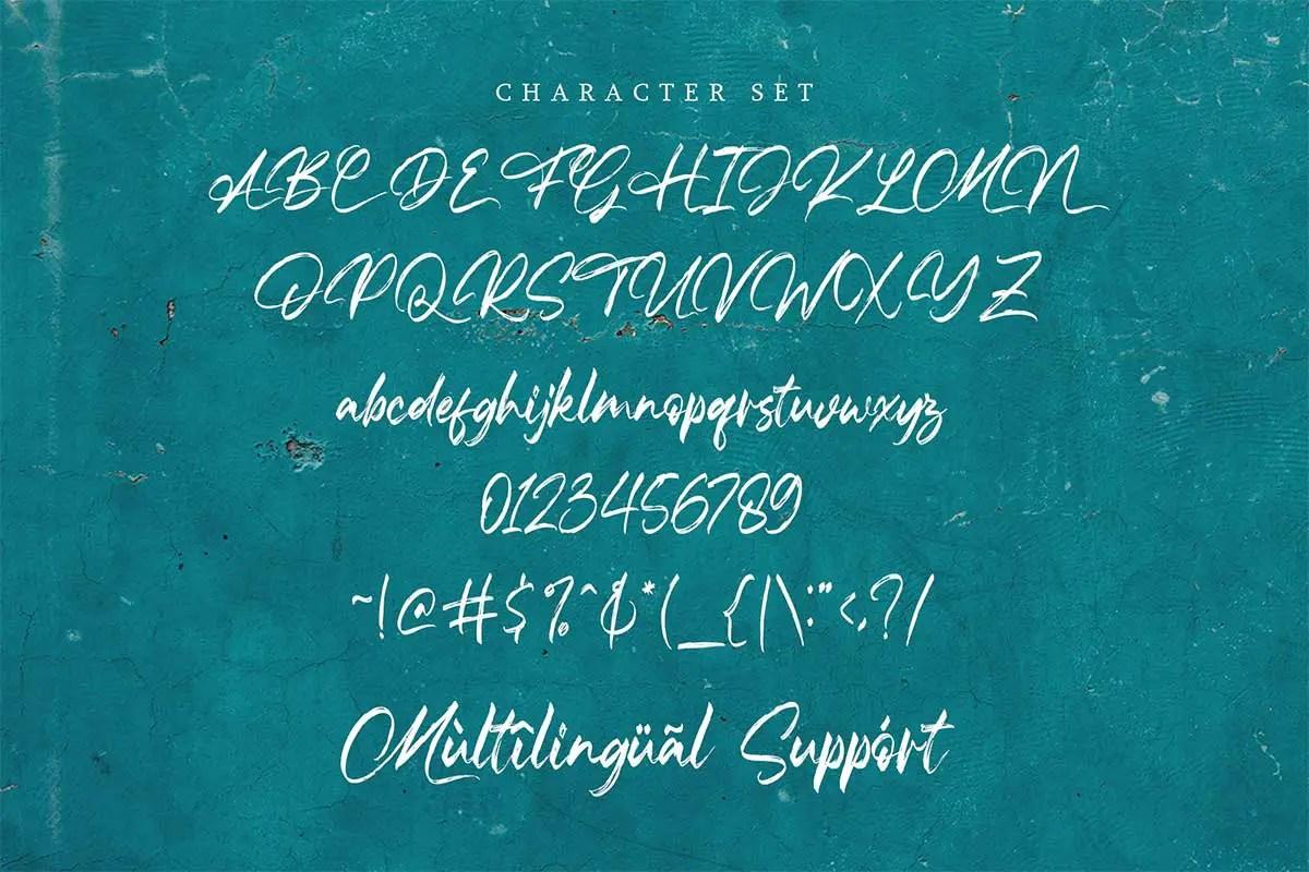 The Frankline Modern Handwritten Font -3