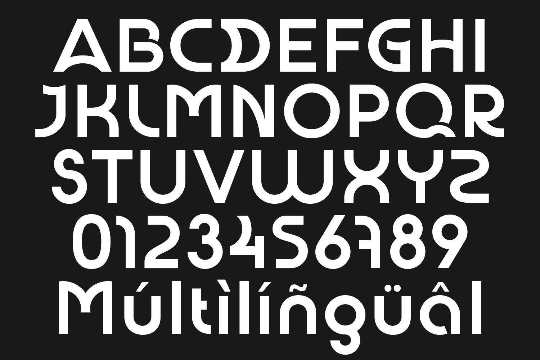 URIAL Modern Sans Serif Font -2