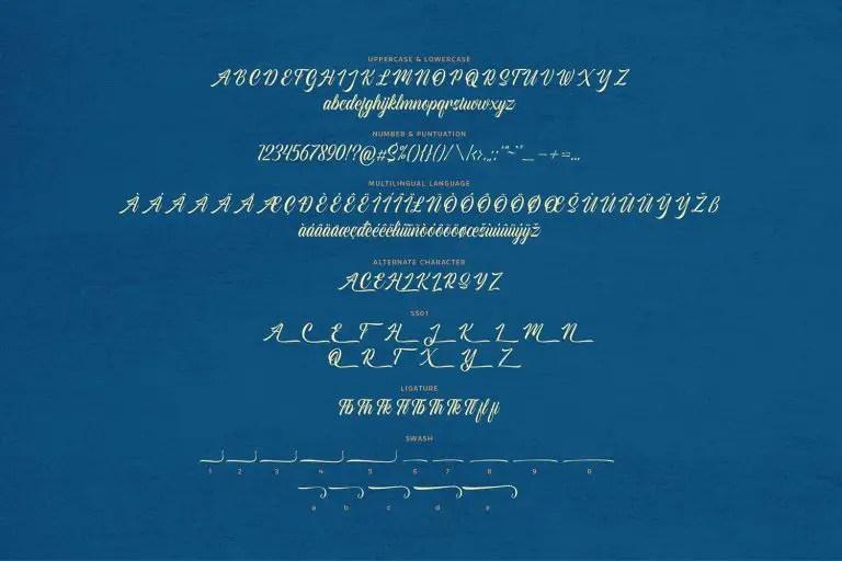 American Signer Script Font -3