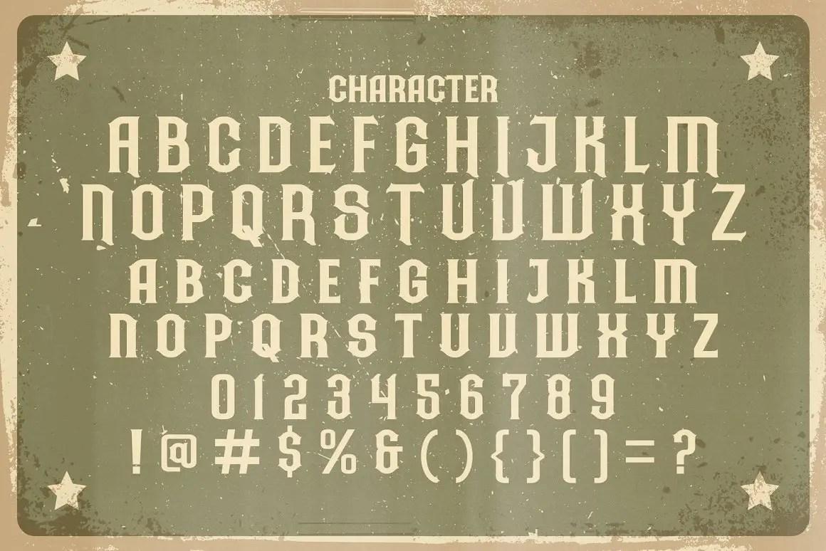 Ardilah Kafi Victorian Style Font -3