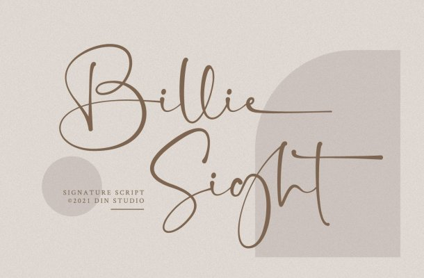 Billie Sight Font