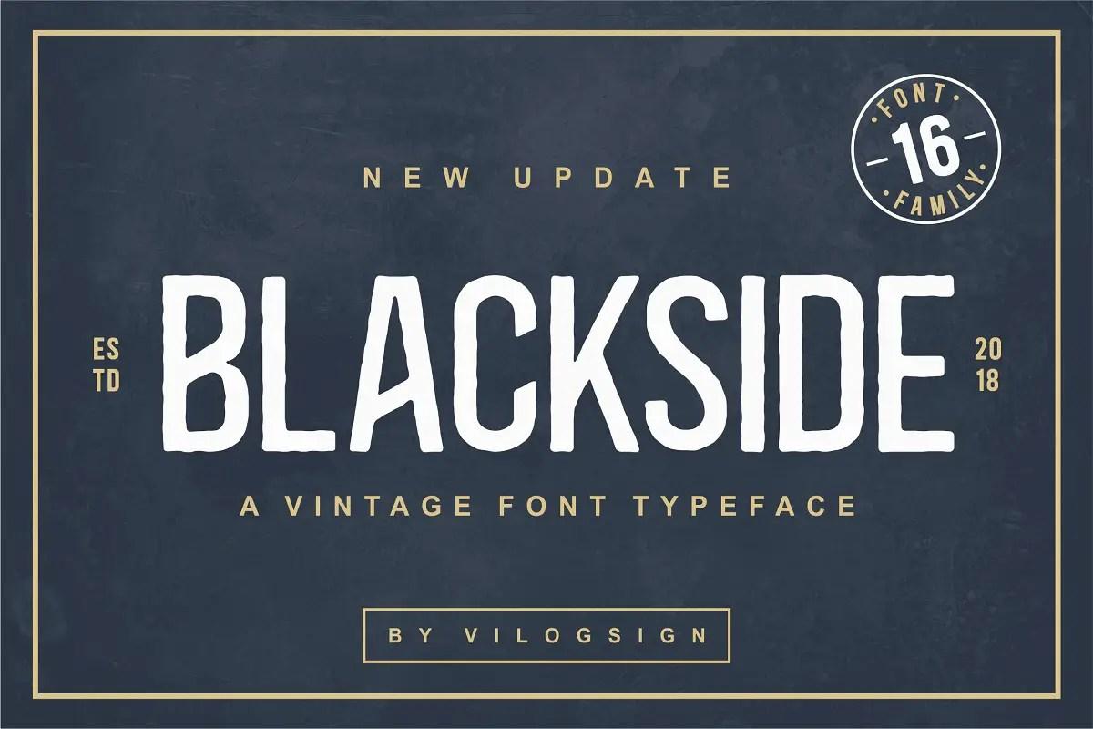 Blackside Font Family -1