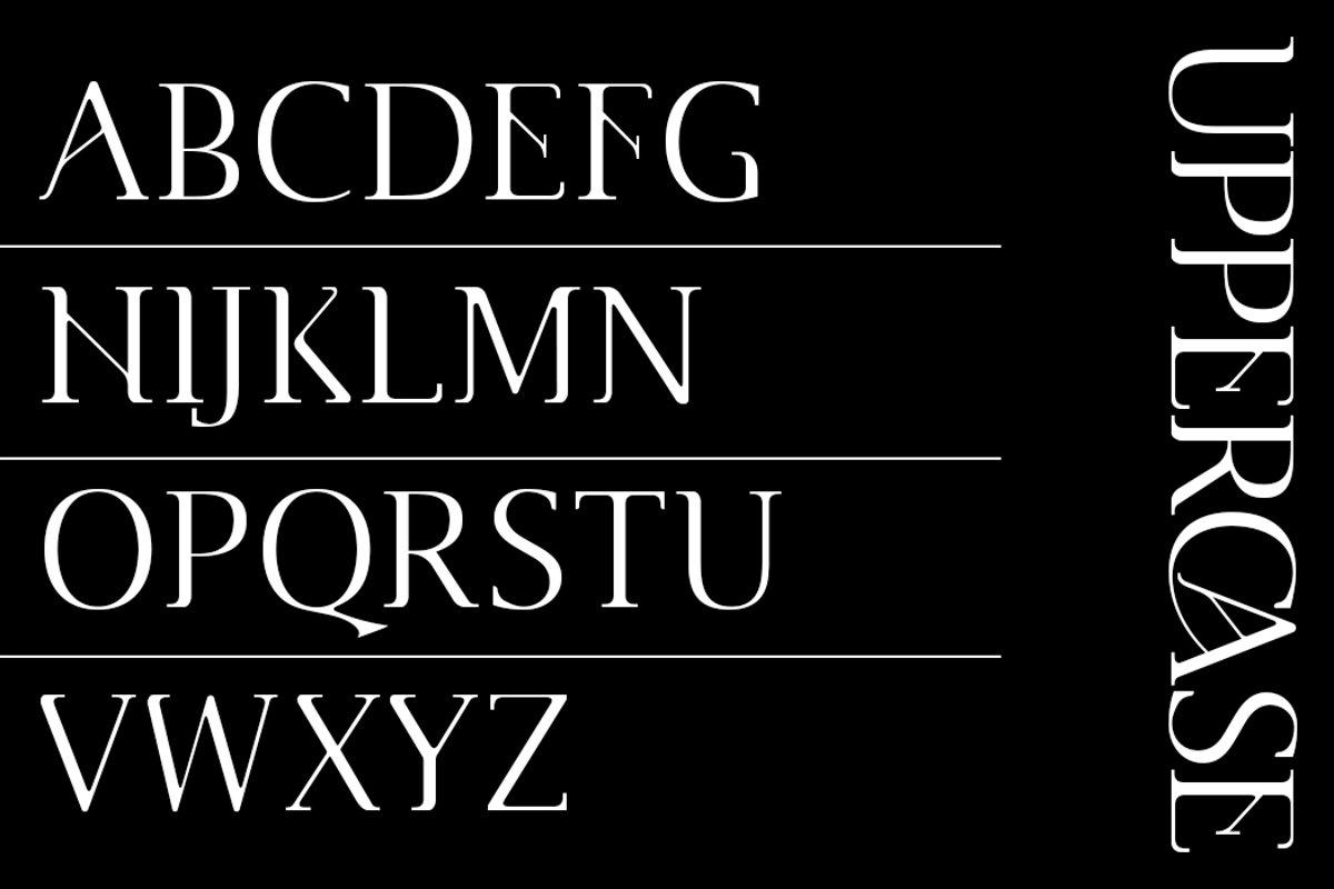 Cannu Serif Modern Typeface -2