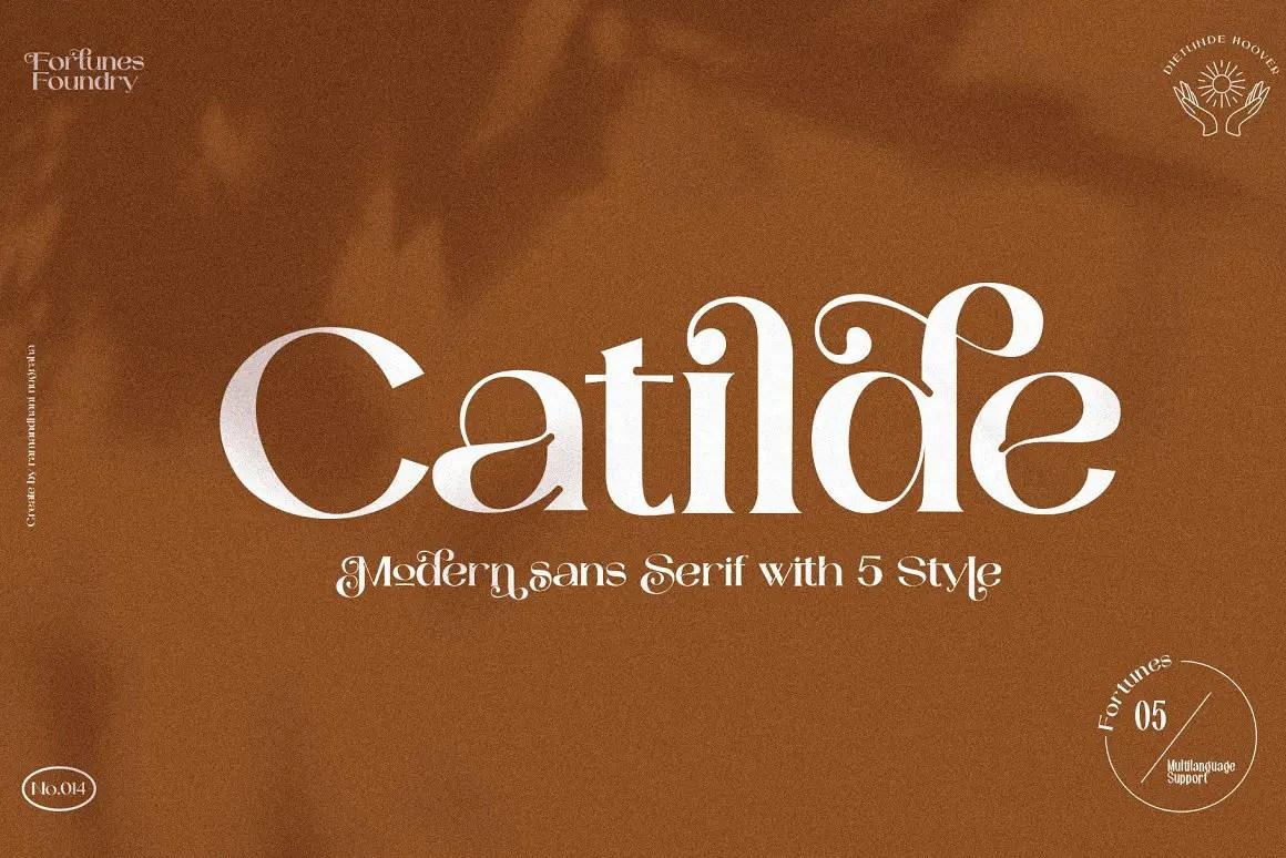 Catilde Modern Serif Font -1