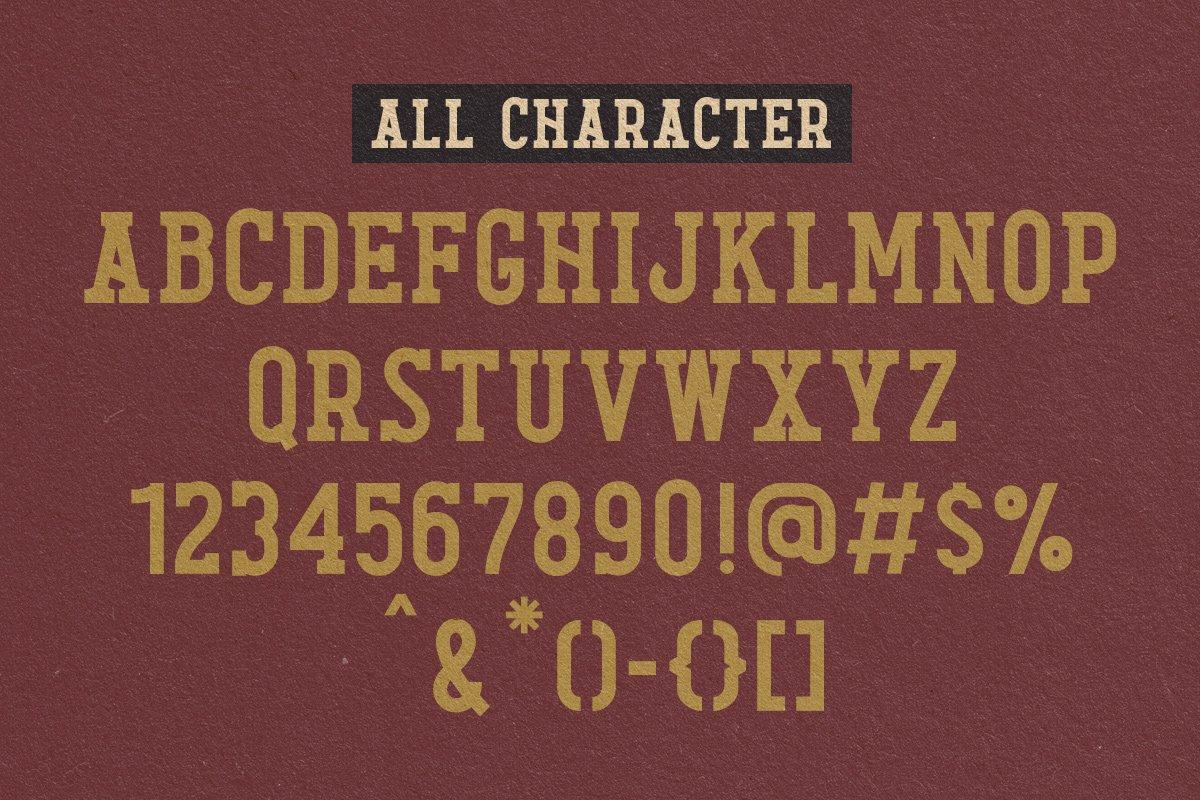 Diamond Lake Strong Display Typeface -3