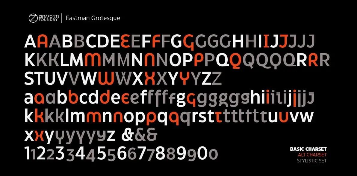 Eastman Grotesque Sans Serif Font -2