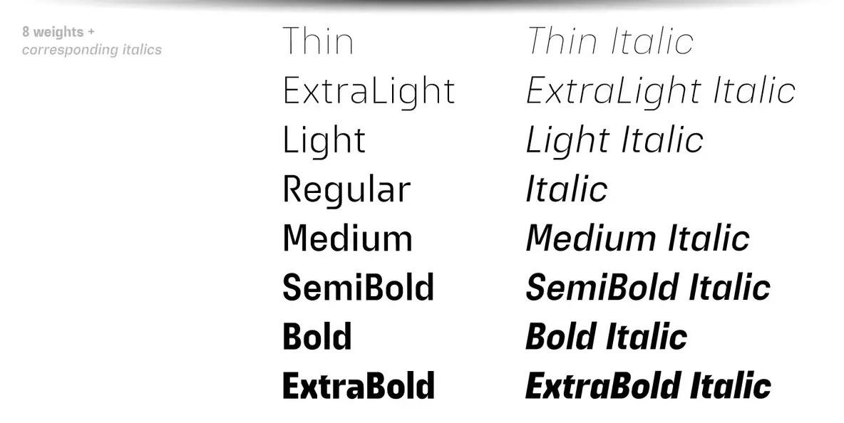 Extatica Sans Serif Font -2