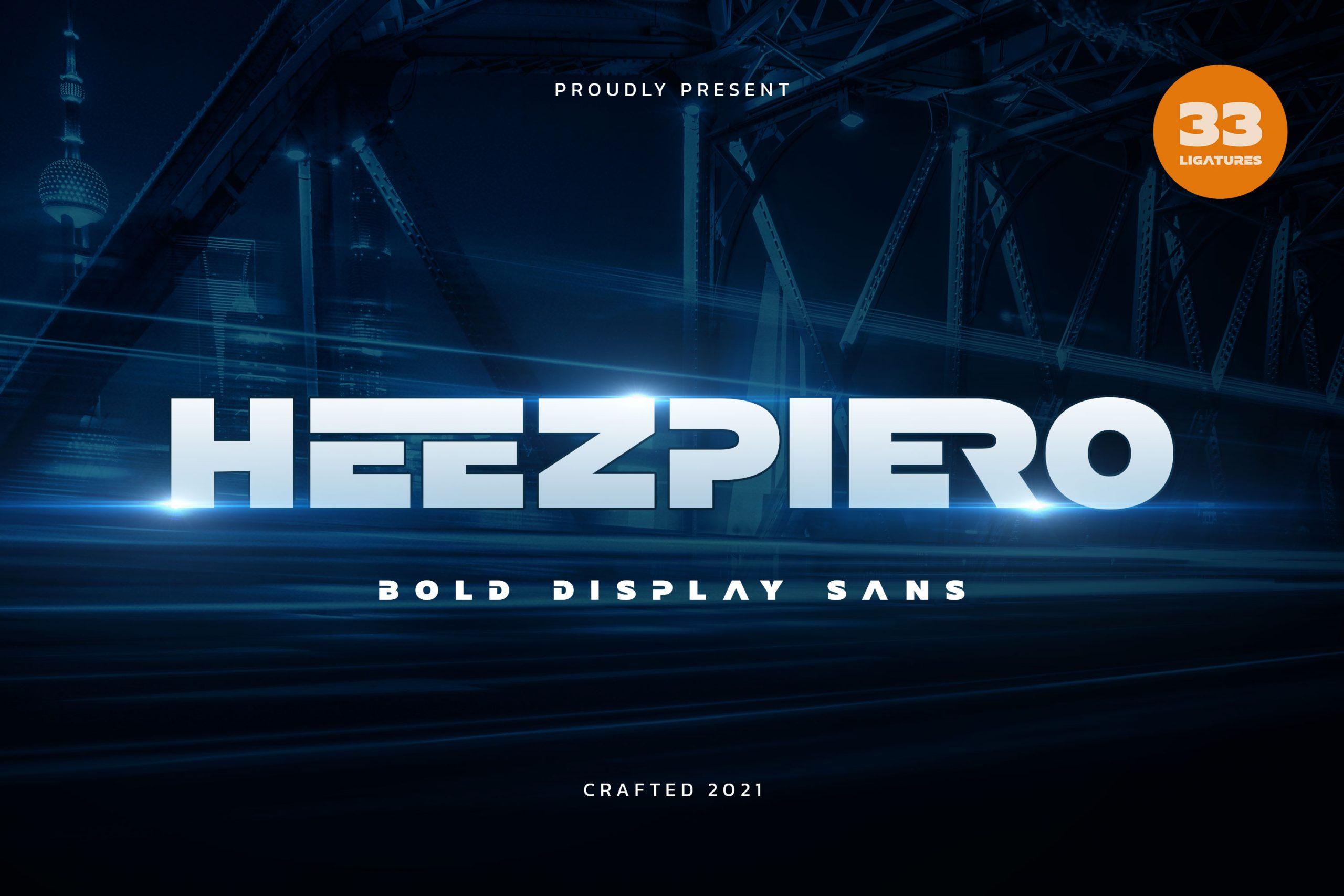 HeezpieroSans Serif Font -1