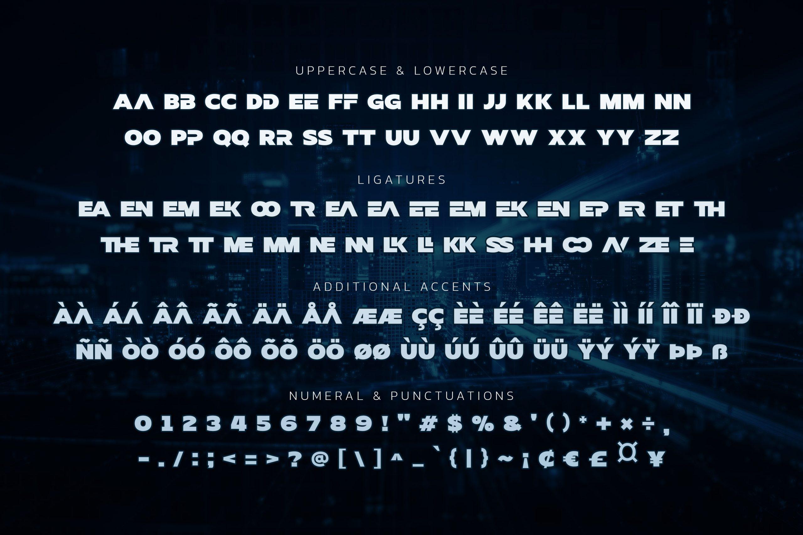 HeezpieroSans Serif Font -3