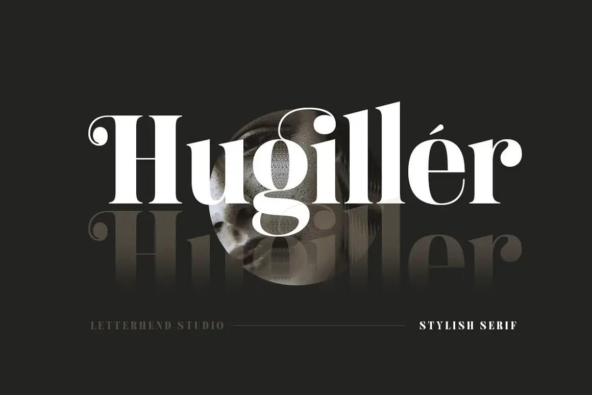 Hugiller Stylish Serif Font -1